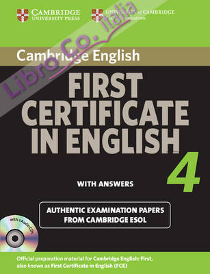 Cambridge First Certificate in English 4 for Updated Exam Se