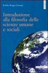 Introduzione alla filosofia delle scienze umane e sociali