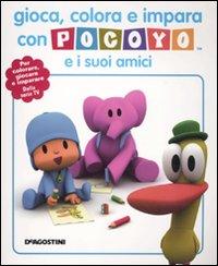 Gioca, colora e impara con Pocoyo e i suoi amici. Ediz. illustrata
