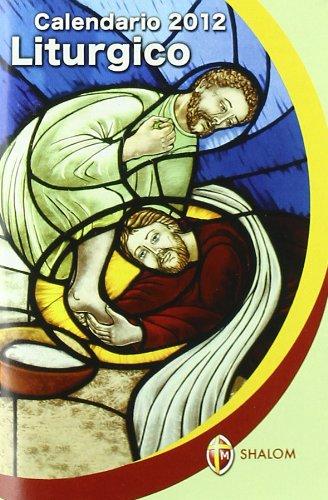 Calendario liturgico 2012