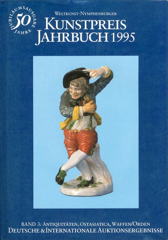 Kunstpreis Jahrbuch 1995. Deutsche & Internationale Auktionsergebnisse. 50. Jahrgang