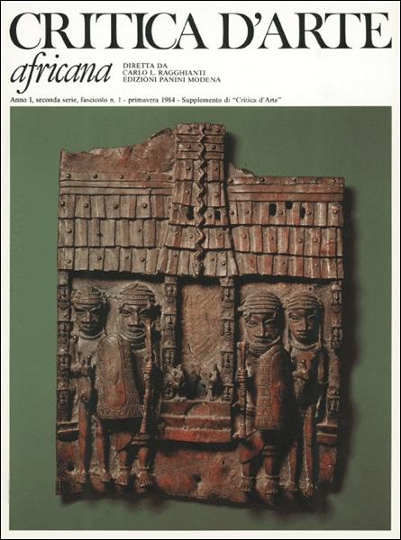 Musei d'arte africana. Critica d'arte / africana 1