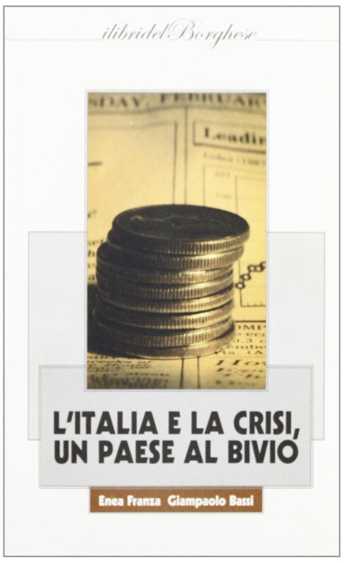 L'Italia e la crisi. Un paese al bivio.