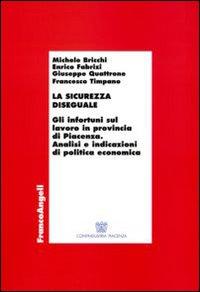 La sicurezza diseguale. Gli infortuni sul lavoro in provincia di Piacenza. Analisi e indicazioni di politica economica.