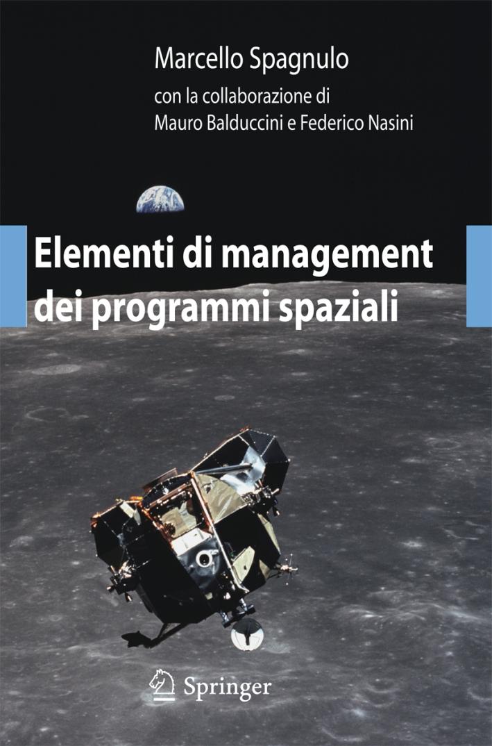 Elementi di management dei programmi spaziali.