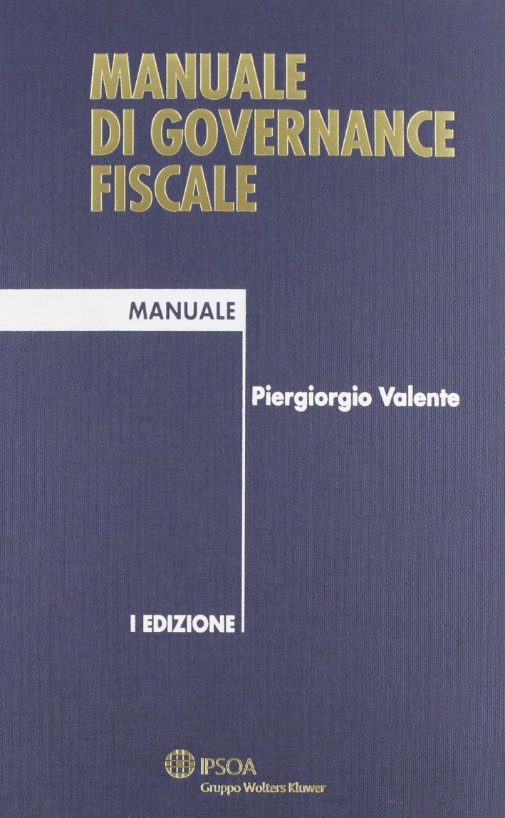 Manuale di Governance Fiscale