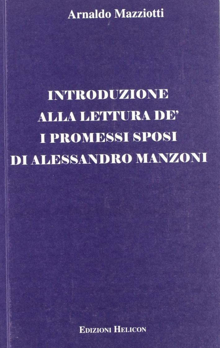 Introduzione alla letteratura de' I promessi sposi di Alessandro Manzoni