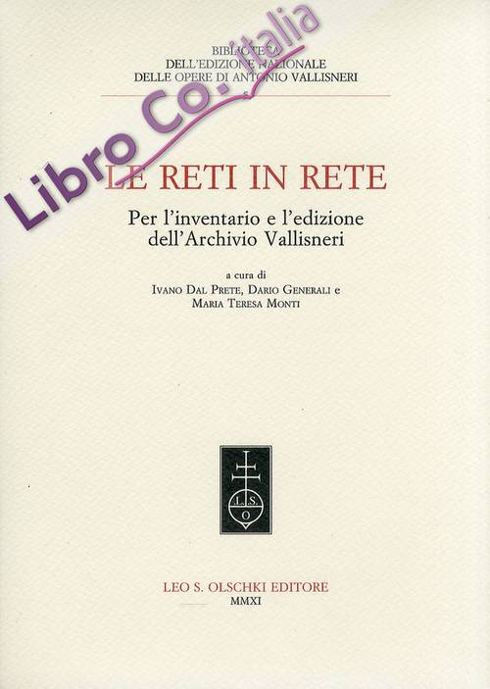 Le reti in rete. Per l'inventario e l'edizione dell'Archivio Vallisneri