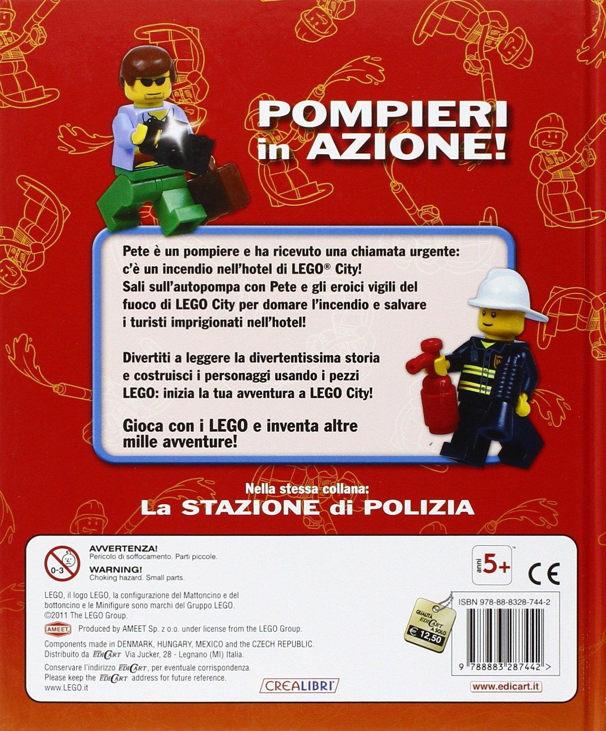 Pompieri in Azione! Lego City. Con Gadget