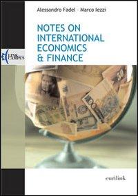 Notes on international economics & finance.