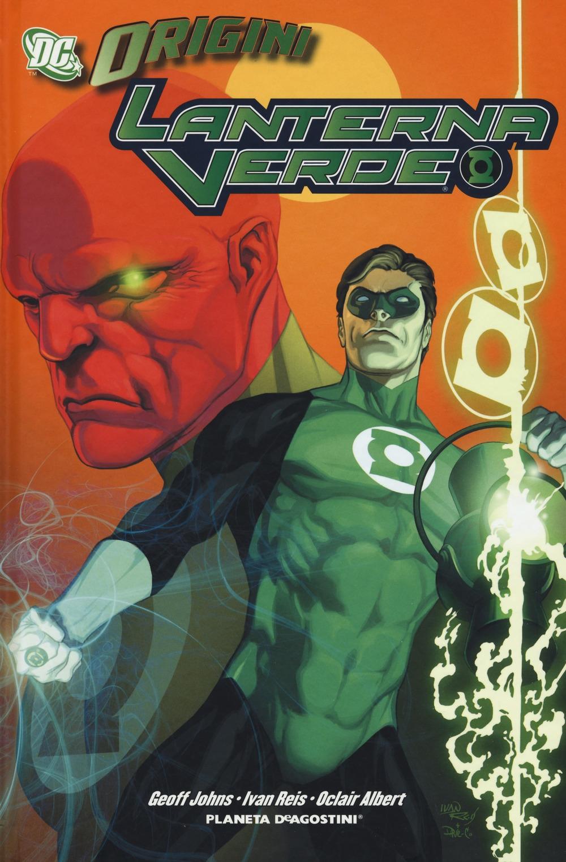 Lanterna verde. DC origini.