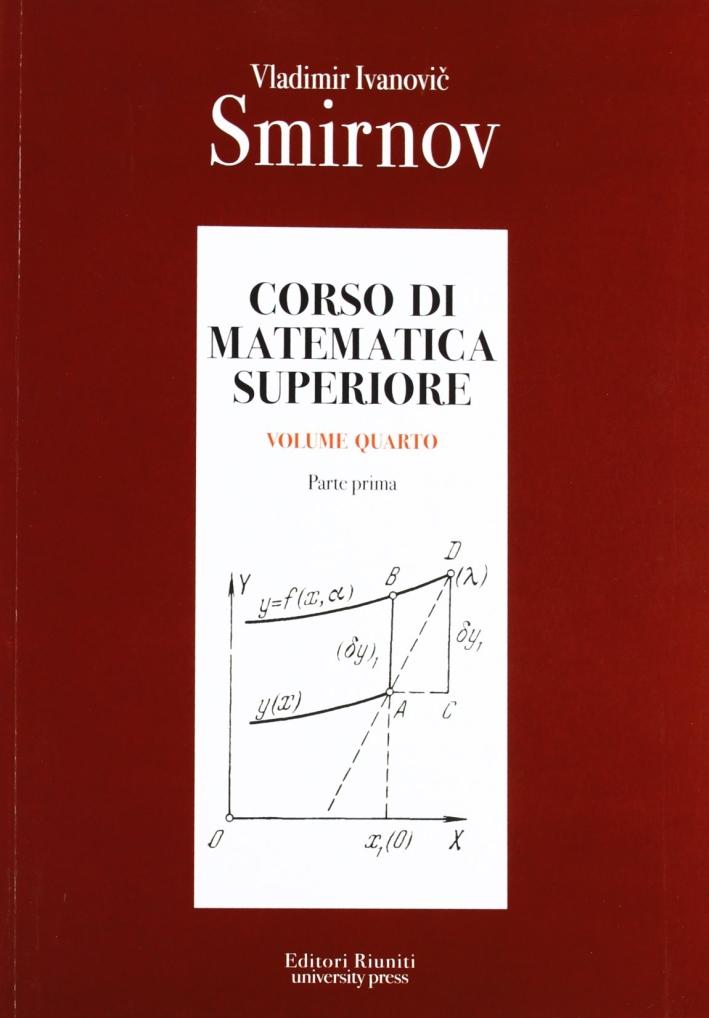 Corso di matematica superiore. Vol. 4/1
