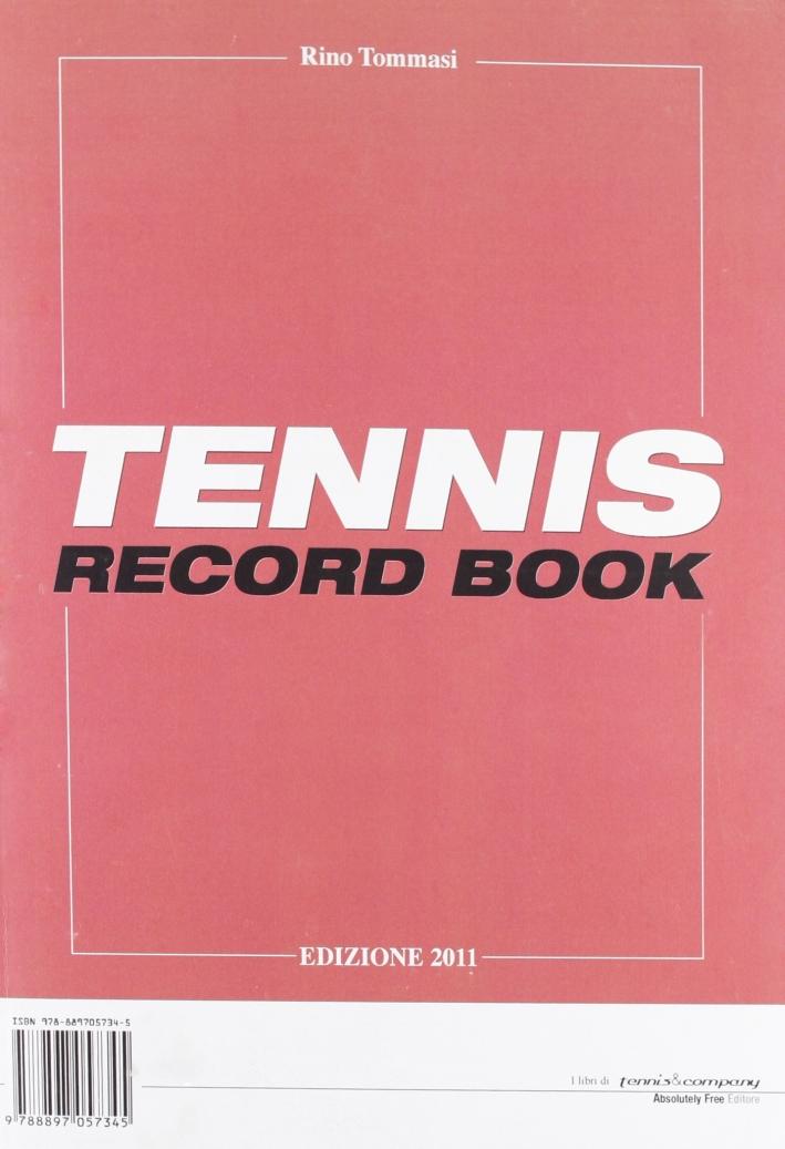 Tennis record book 2011
