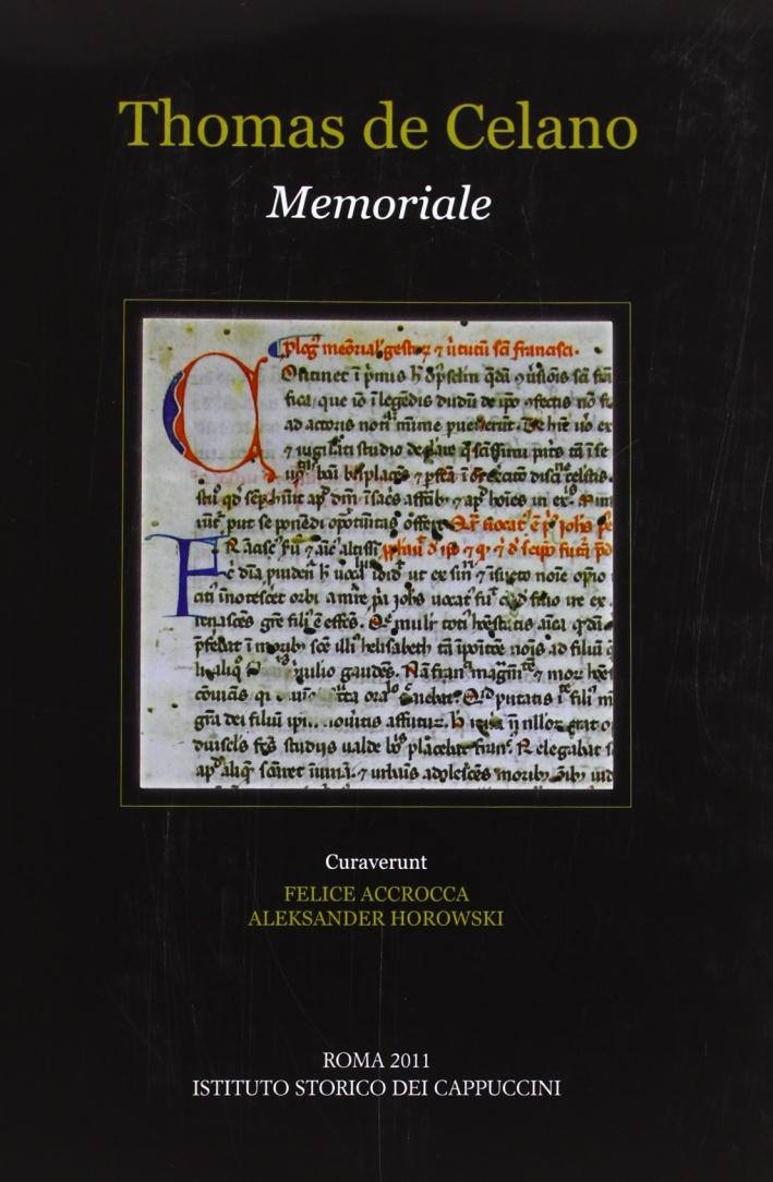Memoriale. Editio critico-synoptica duarum redactionum ad fidem codicum manuscriptorum