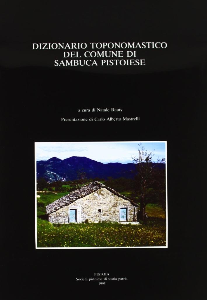 Dizionario toponomastico del comune di Sambuca pistoiese