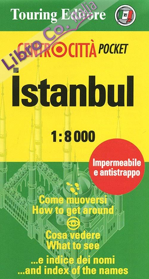 Istanbul 1:8.000. Ediz. italiana e inglese