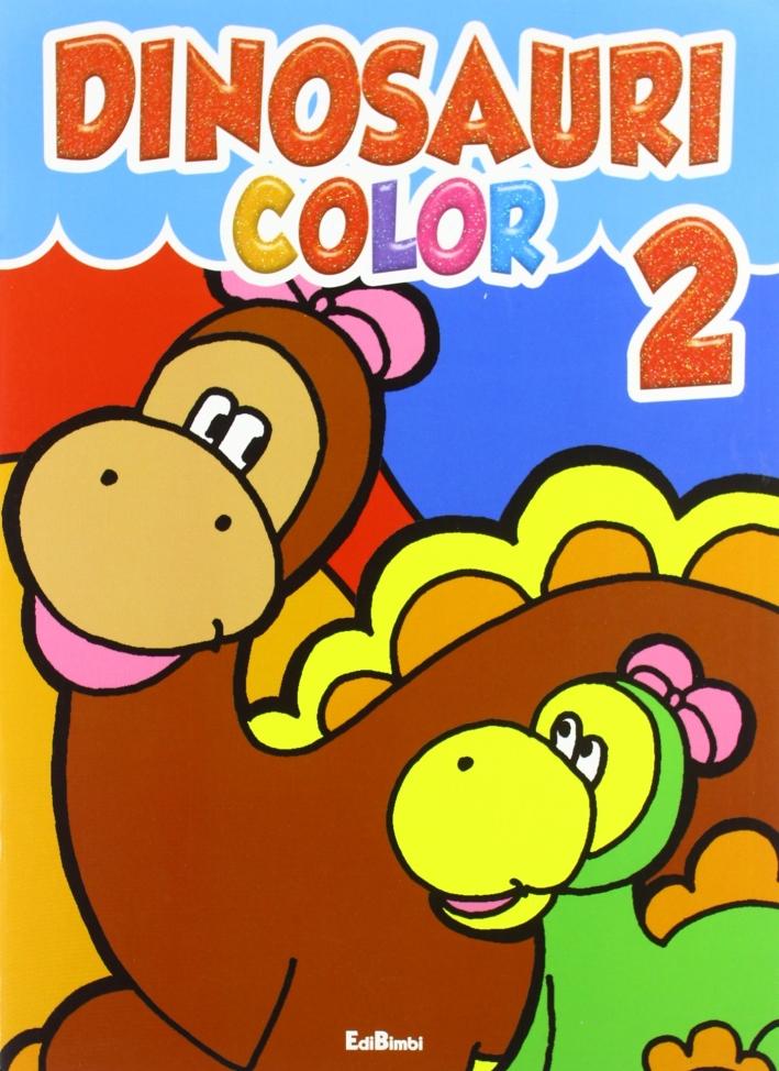 Dinosauri color 1. Ediz. illustrata