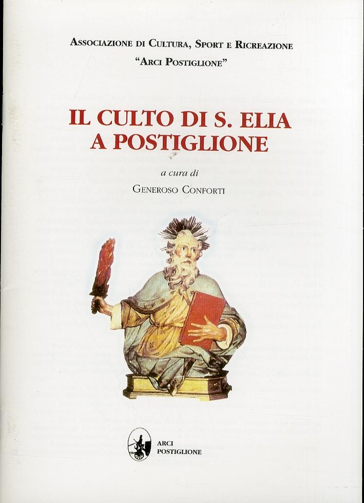 Il culto di S. Elia a Postiglione