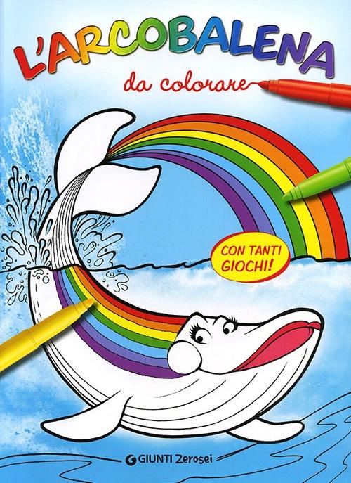 L'arcobalena da colorare