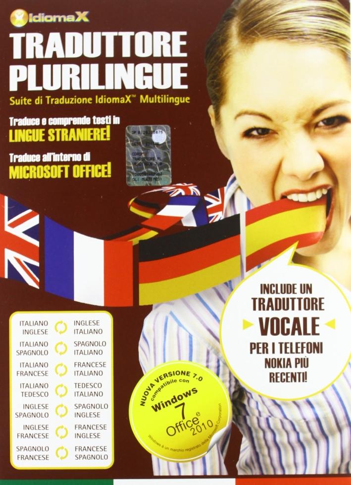 Traduttore plurilingue mobile. CD-ROM