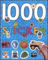 1000 sticker. Ediz. illustrata