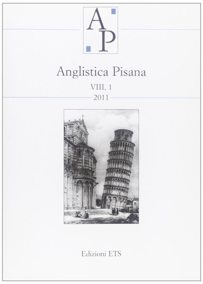 Anglistica pisana (2011). Vol. 8/1