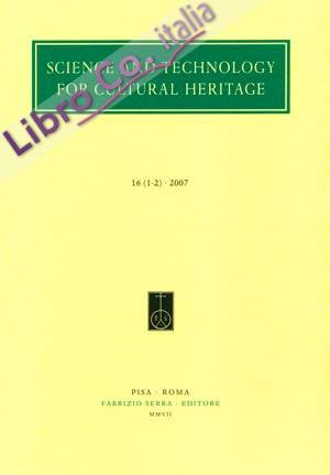 Science and Technology for Cultural Heritage. 20. 1-2. 2011. [Edizione italiana e inglese]