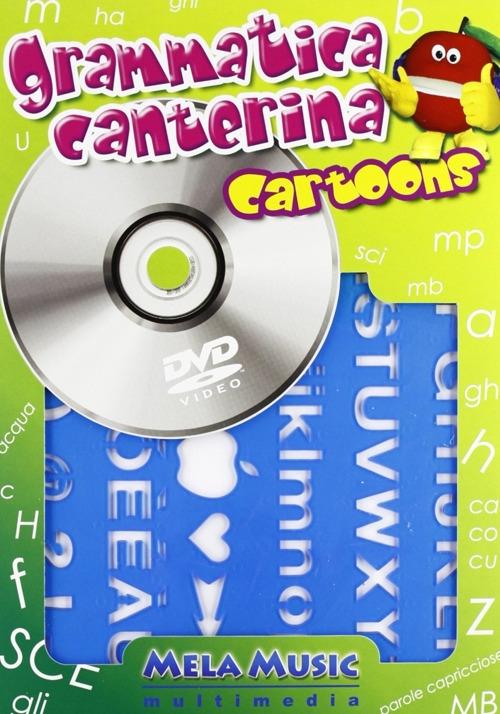 Grammatica canterina cartoons. Con DVD. Con gadget