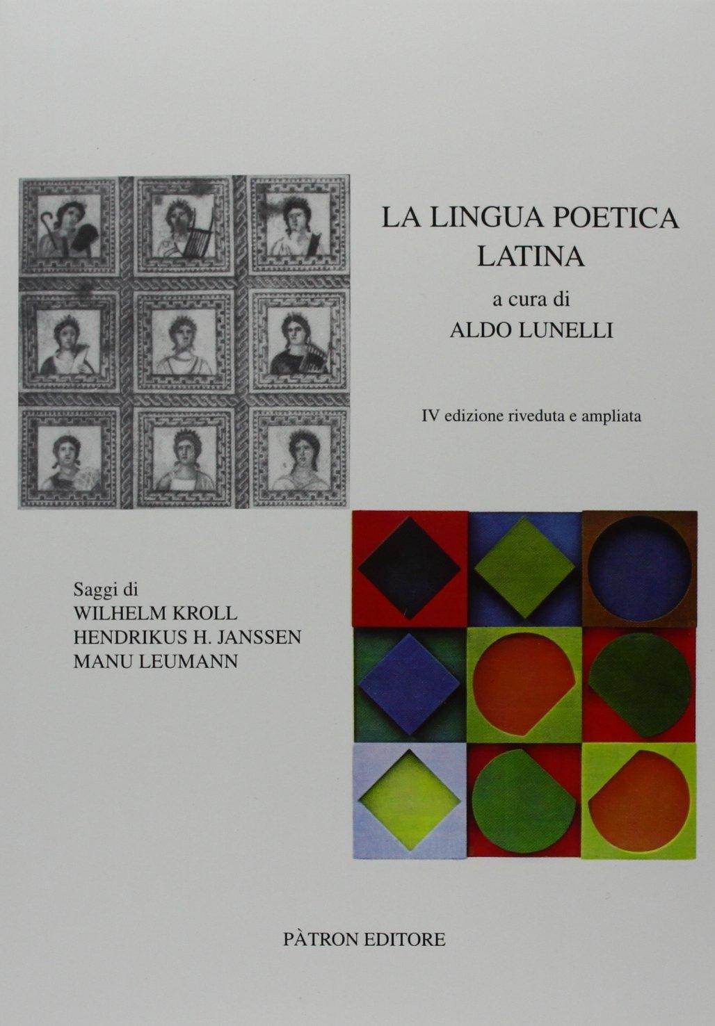 La lingua poetica latina