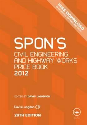Spon's Civil Engineering and Highway Works Price Book.