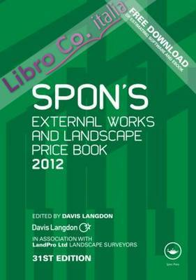 Spon's External Works and Landscape Price Book.