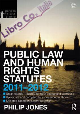 Public Law and Human Rights Statutes.