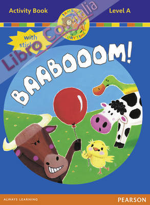 Jamboree Storytime Level A: Baabooom Activity Book with Stic.
