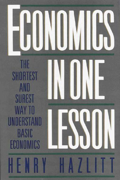 Economics in One Lesson #.