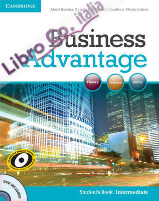 Business Advantage Intermediate Student's Book with DVD.