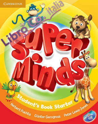 Super Minds Starter Student's Book with DVD-ROM.