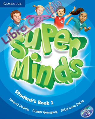 Super Minds Level 1 Student's Book with DVD-ROM.