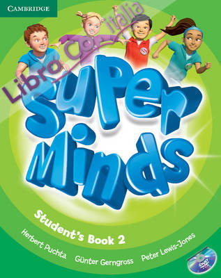 Super Minds Level 2 Student's Book with DVD-ROM.