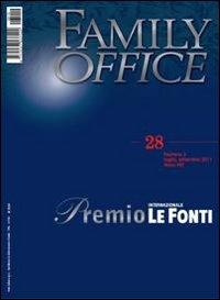 Family office (2011). Vol. 3: Speciale premio internazionale Le Fonti.