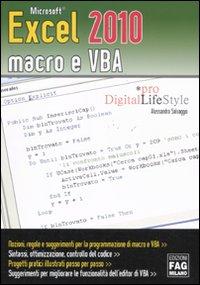 Microsoft Excel 2010 macro e VBA.