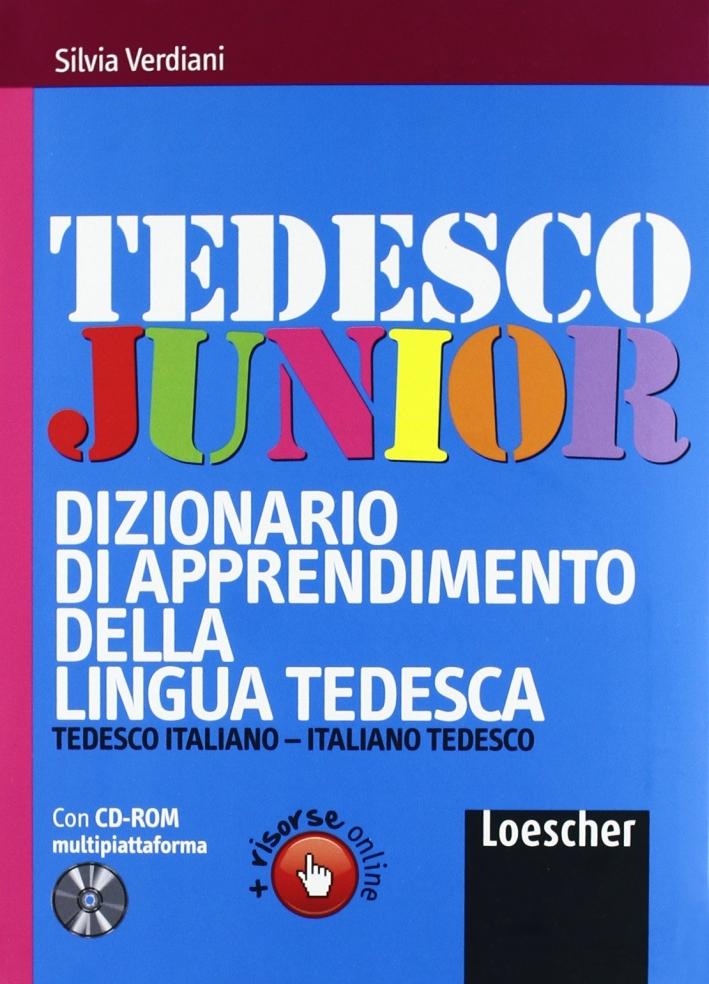 Tedesco junior. Dizionario di apprendimento della lingua tedesca. Con CD-ROM. Con espansione online