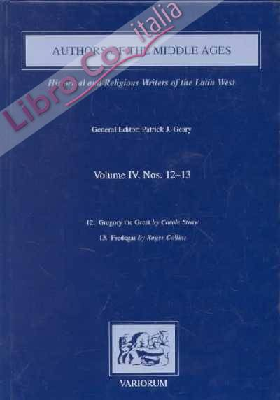 Authors of the Middle Ages. Volume IV, 12-13
