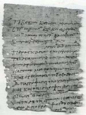 The Oxyrhynchus Papyri...