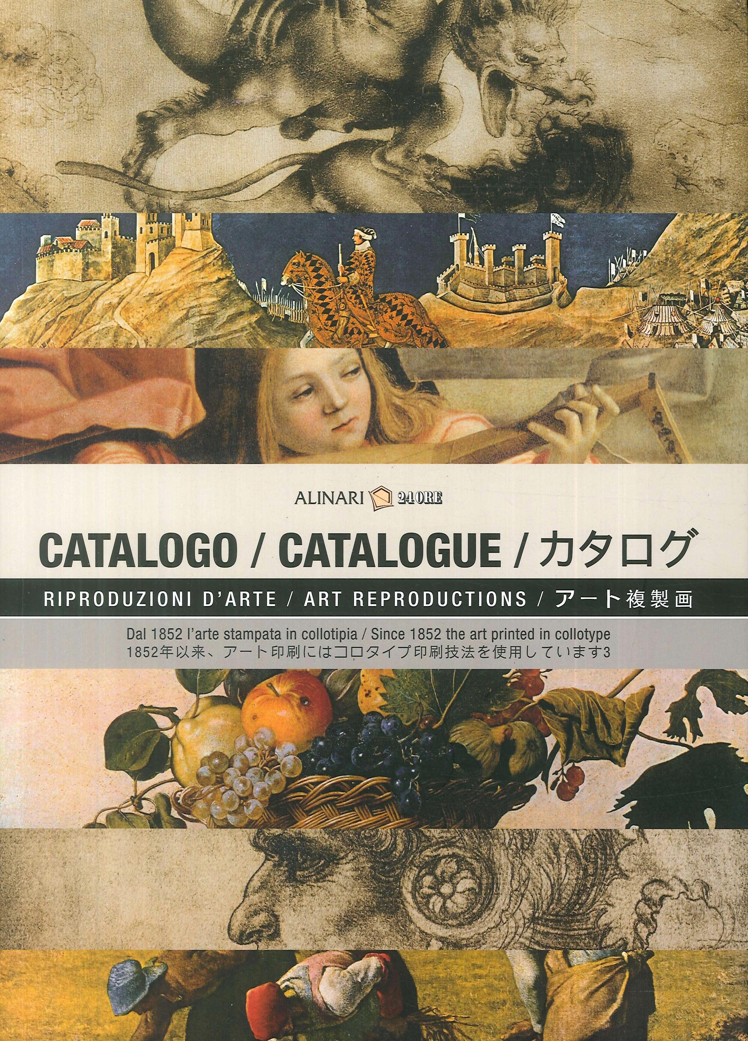 La collezione di riproduzioni d'arte Alinari. Ediz. italiana, inglese e giapponese