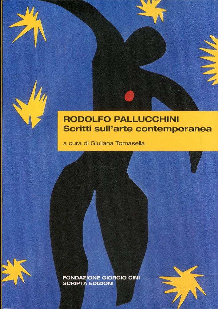 Rodolfo Pallucchini Scritti sull'Arte Contemporanea