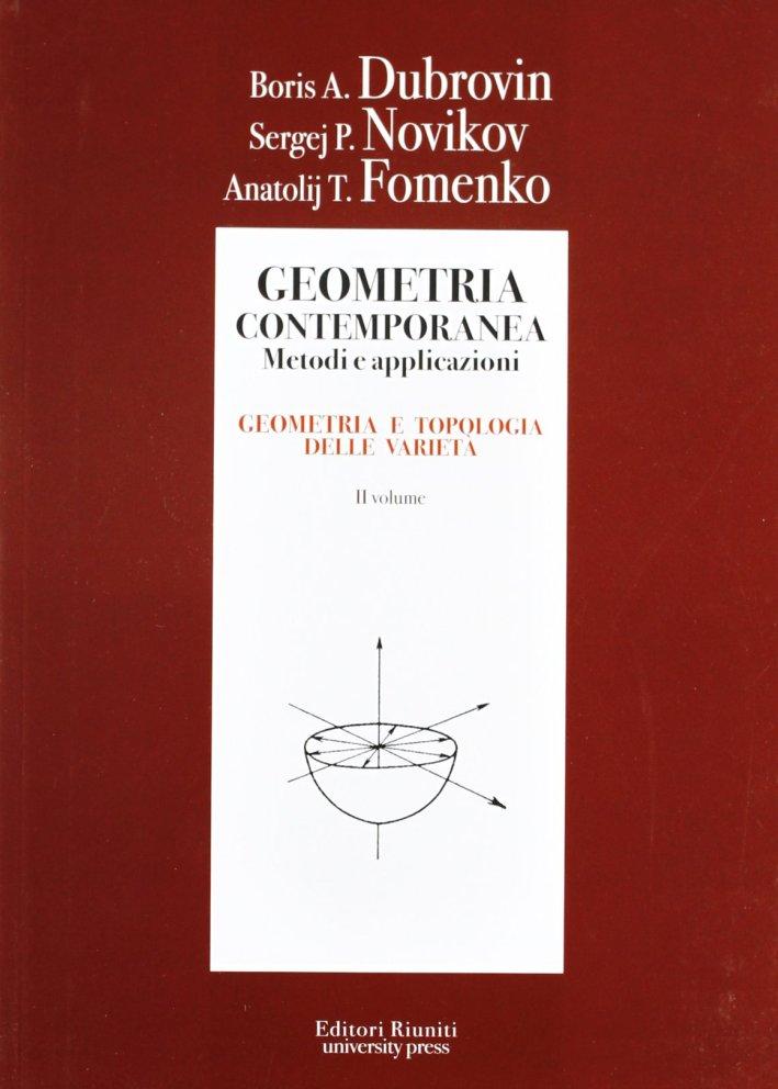 Geometria. Metodi, applicazioni. Vol. 2