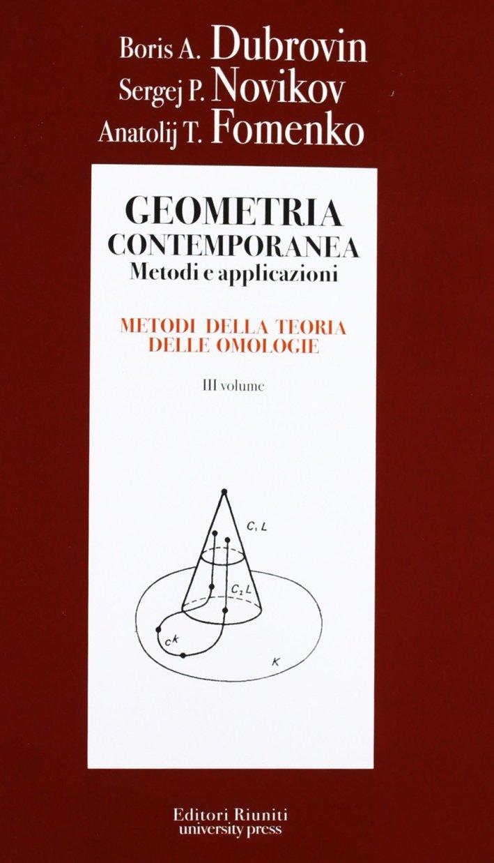 Geometria. Metodi, applicazioni. Vol. 3