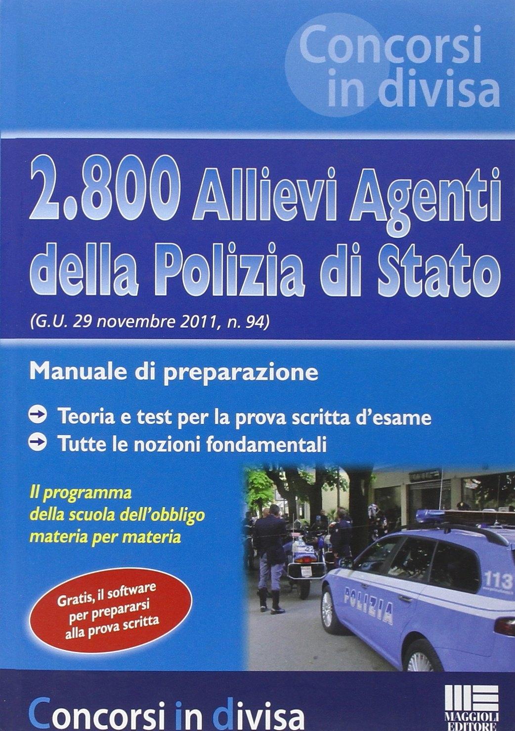 2800 Allievi Agenti Polizia Stato Manual