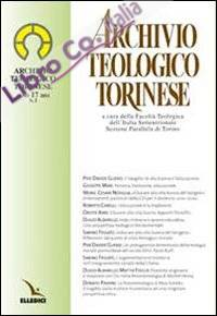 Archivio Teologico Torinese (2011). Vol. 2