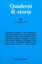 2 Quaderni di storia. 2002/55 1pc...
